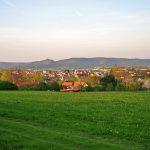 Sicht über Rottenburg am Neckar