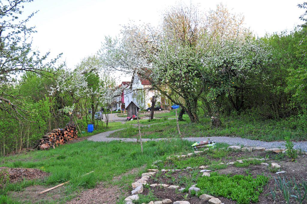 Bild des Gartens der Begegnung